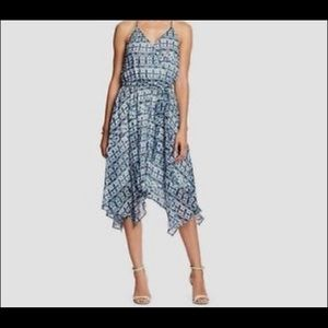 Banana Republic Handkerchief Midi Tank Dress